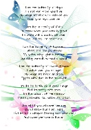 Heaven Quotes for Inspirational Poetry - I am the butterfly of hope.....